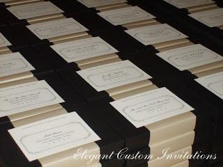 Boxed Wedding Invitations   Isabella Invitations