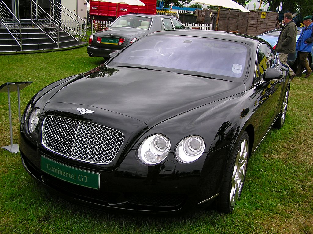 Bentley Continental GT Race Car