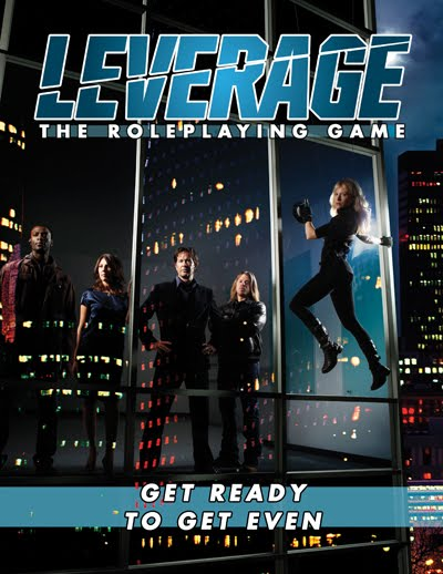 Leverage RPG Cover
