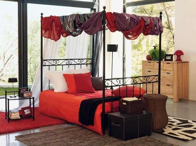Decorando la francesa camas - Ciel de lit alinea ...
