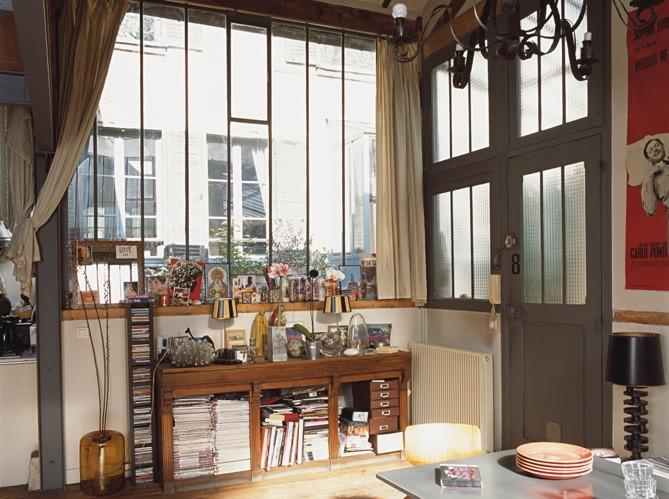 Decorando francesa visite priv e um pequeno loft for Loft rustico