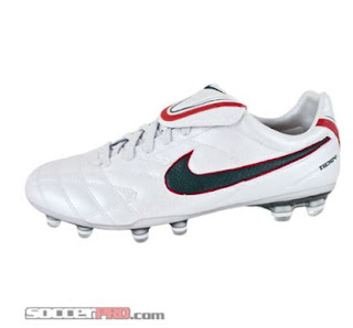 Nike Tiempo Legend Elite FG - White with Seaweed and Sport Red