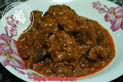 Beef Rendang Recipe (Rendang Daging) Recipes — Dishmaps