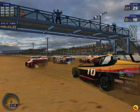 dirt track racing games online