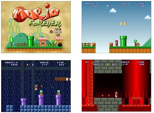 Mario Forever 4 Online Game