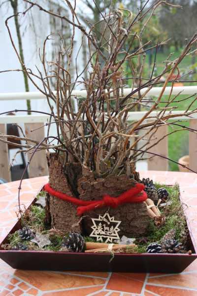 Kreative ideen rund ums basteln scrapbooking kochen und for Gestecke basteln weihnachten