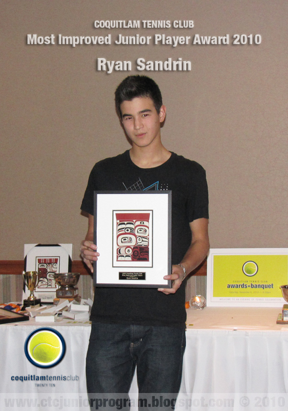 Coquitlam Tennis Club Junior Program 2015: And the Winners go to...