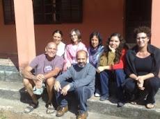 Com alunos do Rio!