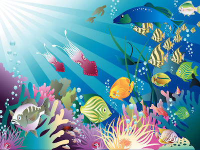 fish tank wallpaper. Aquarium wallpaper 2010, Great