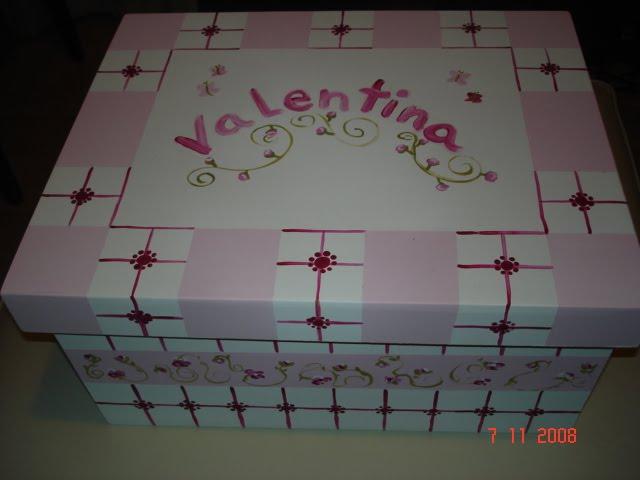caja garande en rosa precio $90