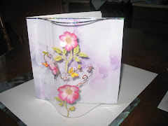 Bow fronted card