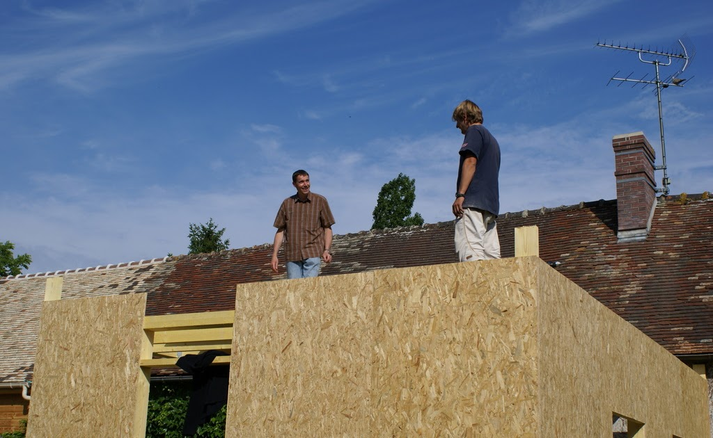Toiture Terrasse Osb : AUTO CONSTRUCTION BOIS charpente ou toiture terrasse