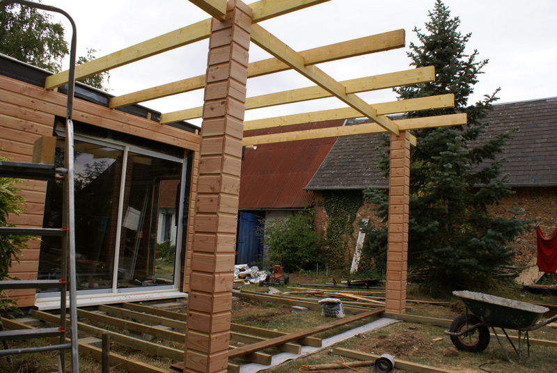 Auto construction bois terrasse en bois for Construction agrandissement bois