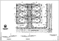 structural precise grading plans
