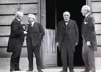 Tratados de paz Versalles+1919