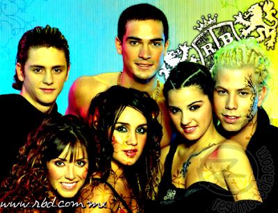 de despedida do grupo RBD, que nasceu a partir da novela Rebelde ...