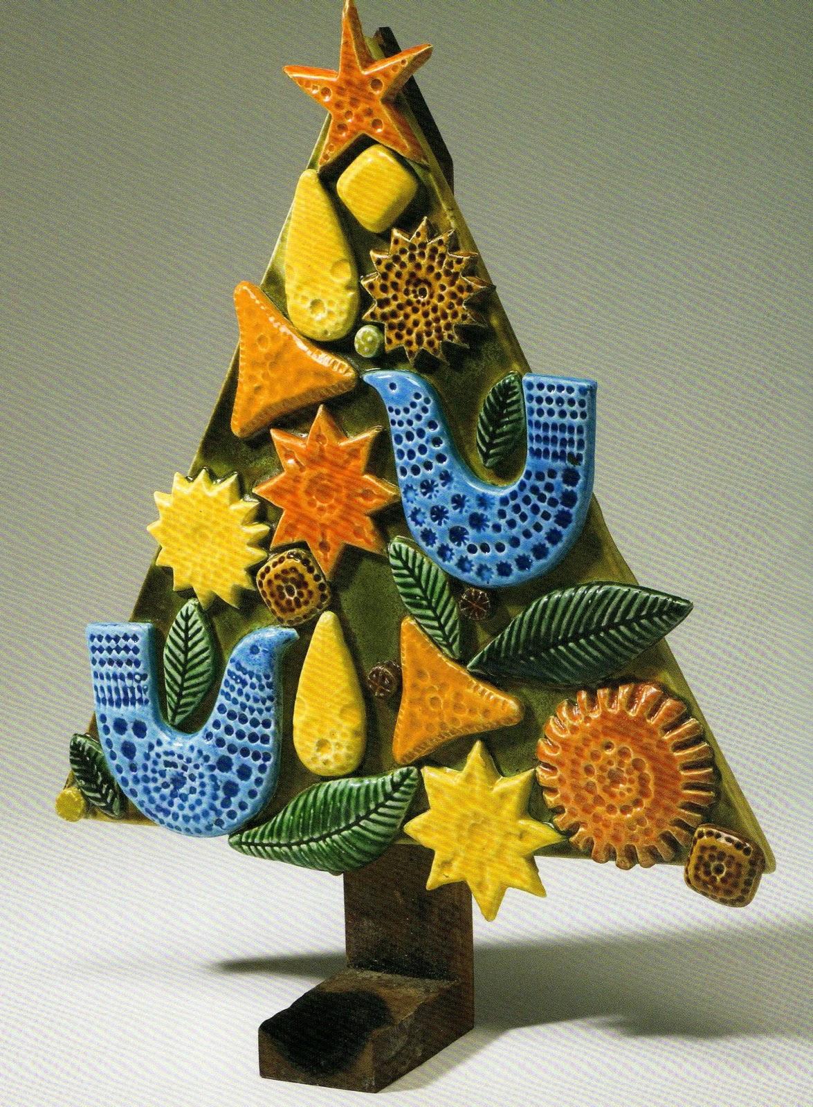 Classcreativity clay christmas trees
