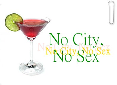 No City, No Sex