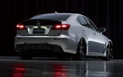 Lexus IS-F New start