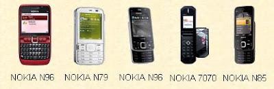 NOKIA E63 N79 N96 7070 N85
