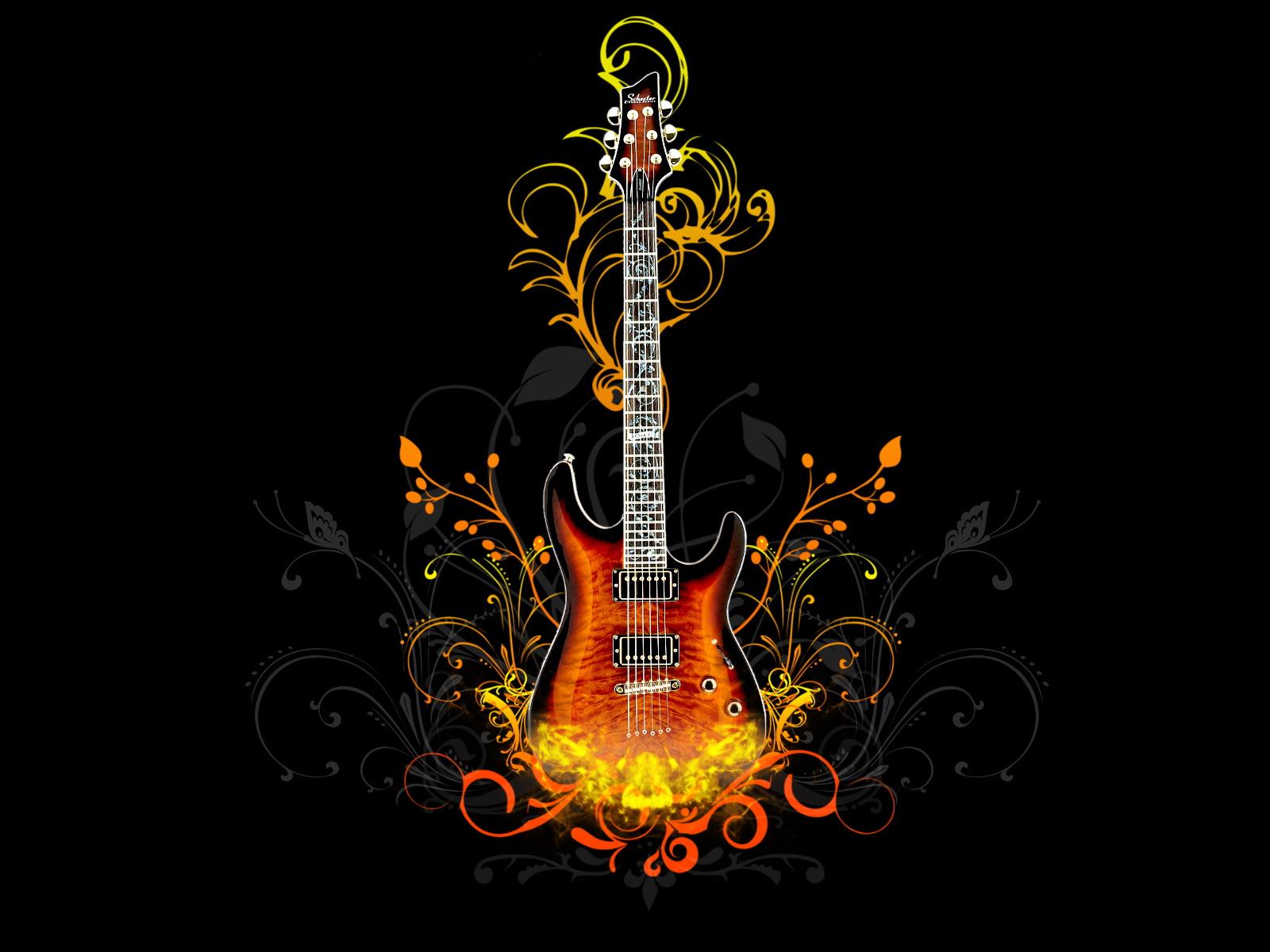 Wallpaper Provider Guitar Wallpaper Set 01