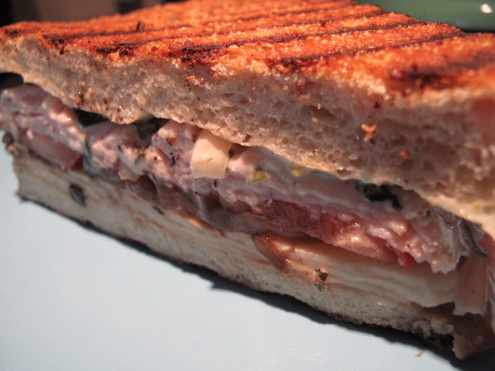 House Blend: Tuesday's Sandwich - Turkey Artichoke Panini