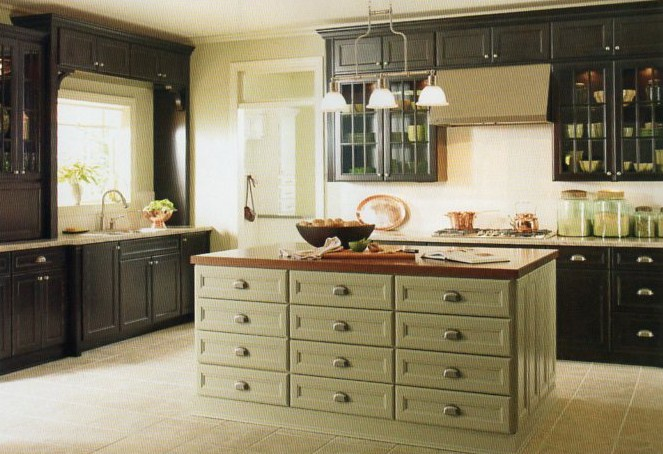 House blend martha stewart living cabinetry countertops amp hardware