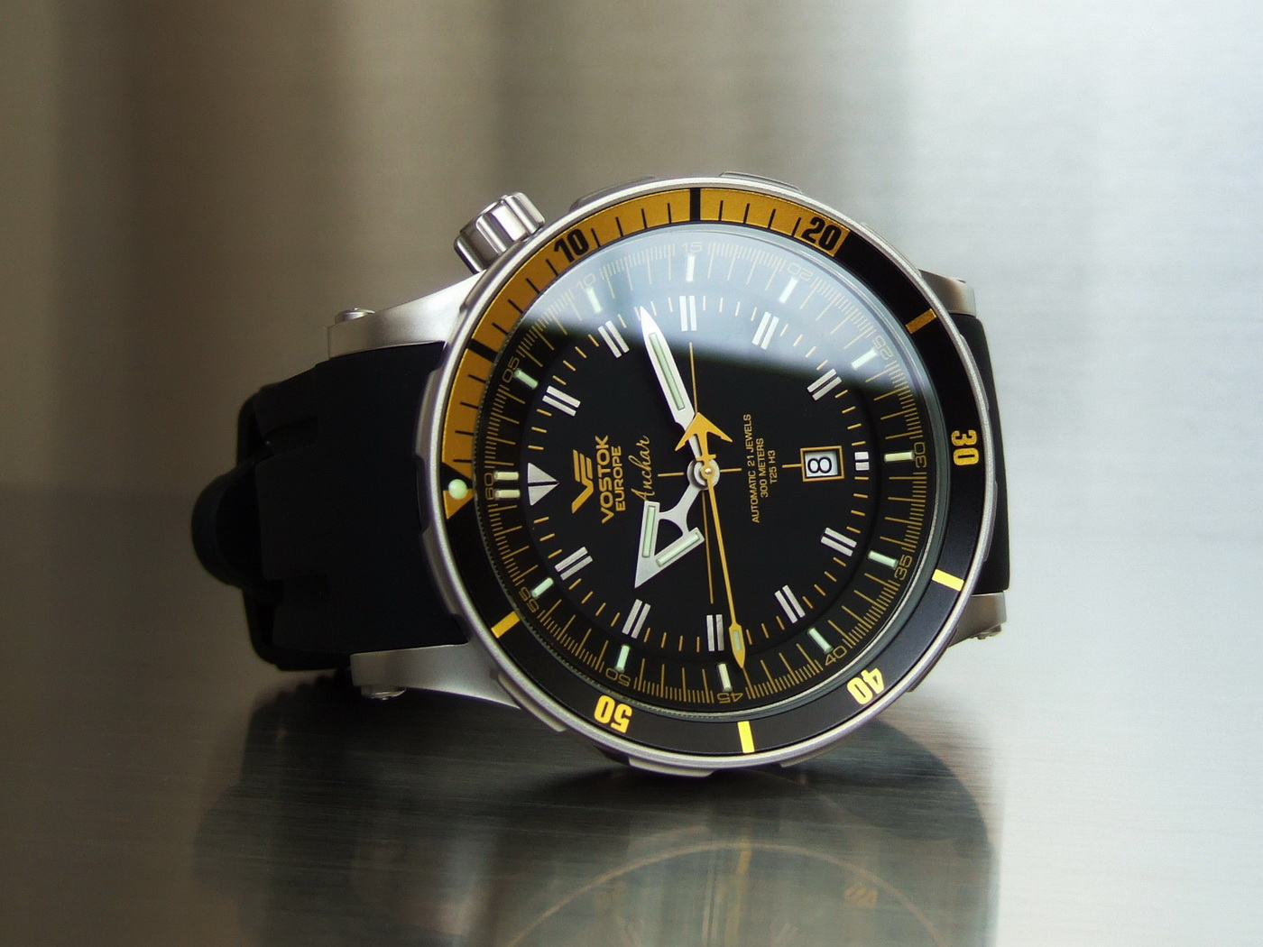 Oceanictime vostok europe anchar review for Vostok europe watches