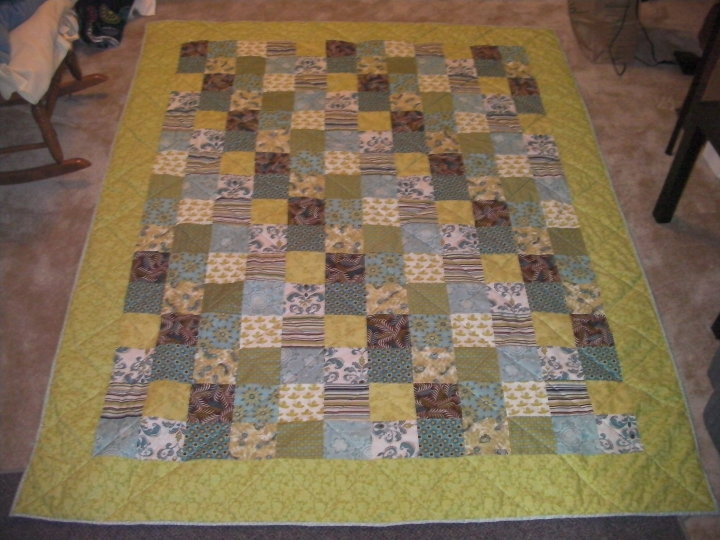 The Unlikely Domestic Diva: How to Make a Quilt for Beginners Part ... : easiest quilt to make - Adamdwight.com