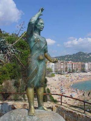 Monument a la Dona Marinera. Lloret de Mar