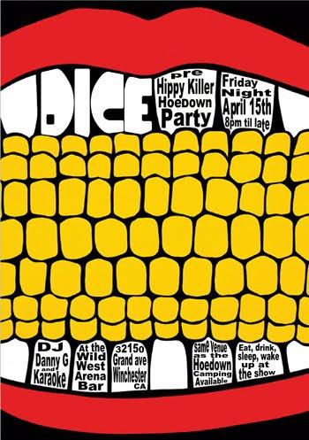 Hippy Killer Hoedown Party