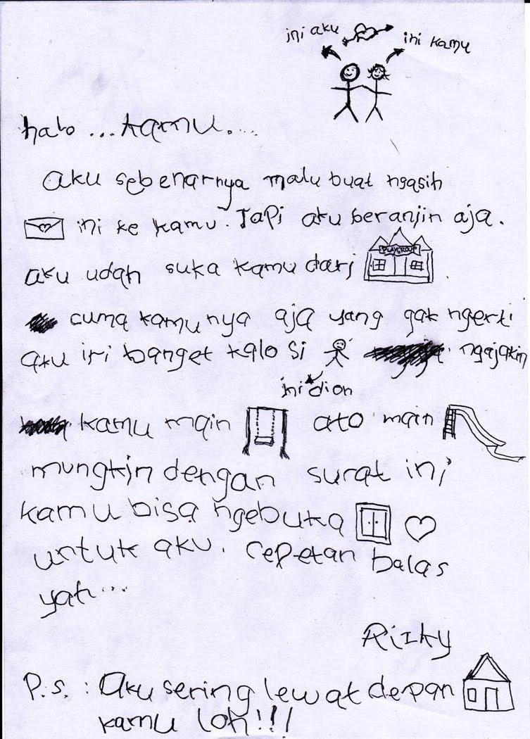 Surat Cintaku Yang Pertama Kaskus
