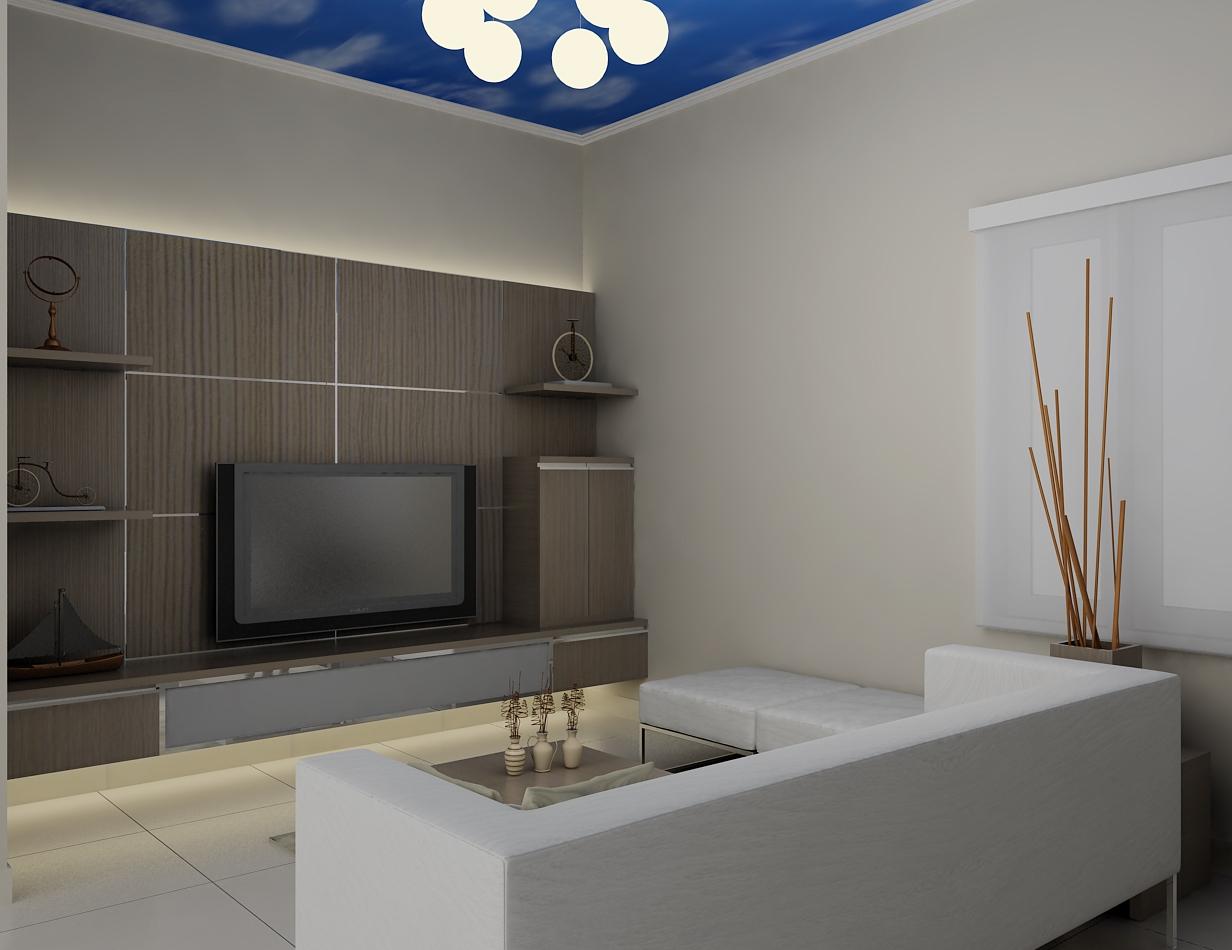 Meja Tv Ini Terbuat Dari Multiplek