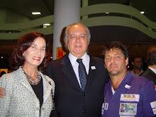 O presidente da Bienal São Paulo prestigiou a todos com sua agradável presença.