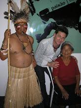 Índios da aldeia Icatú SP.