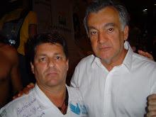 Piassa e o ministro da Cultura Juca Ferreira.
