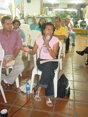Miembros de la Red Nicaragüenses de Escritores y Escritoras (RENIES)