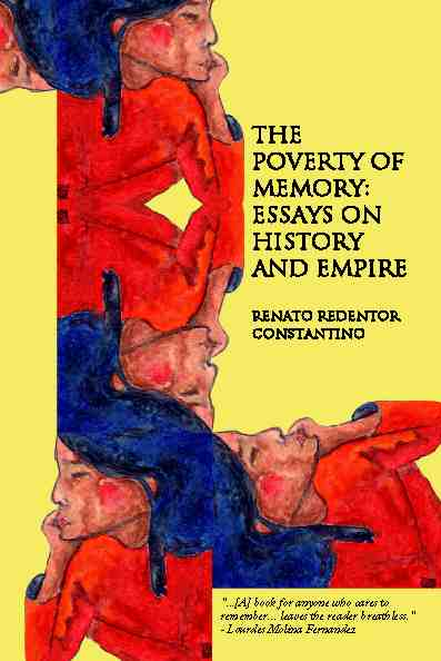 The Poverty of Memory