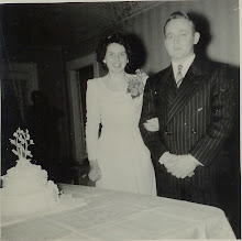 Mother and Dad Wedding Photo