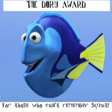 Some People call me Dory, I'm not sure why!