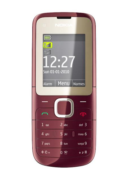 Nokia C2-00 Dual Sim Card Phone
