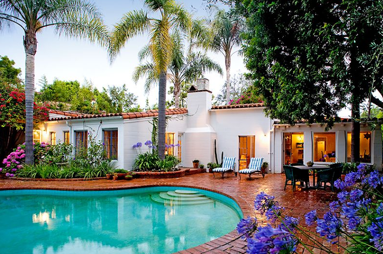 Marilyn Monroe's Brentwood Home -