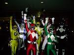 Power Rangersku yang Berani