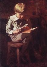 """Boy Reading"""