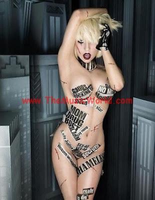 lady gaga sexy nude
