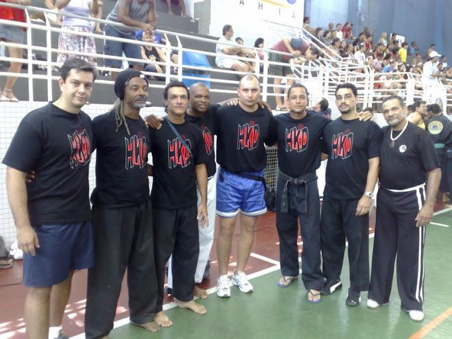 Salvador Bahia-Brasil. Amigos y Maestros de Hapkido