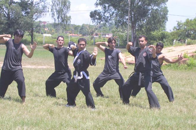 Grupo Hapkido 2.000-Foto para diario ABC