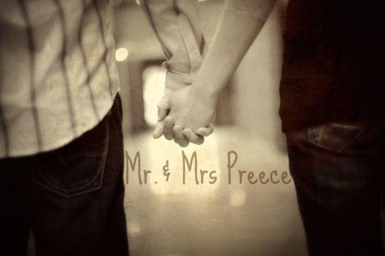 Mr. & Mrs. Preece