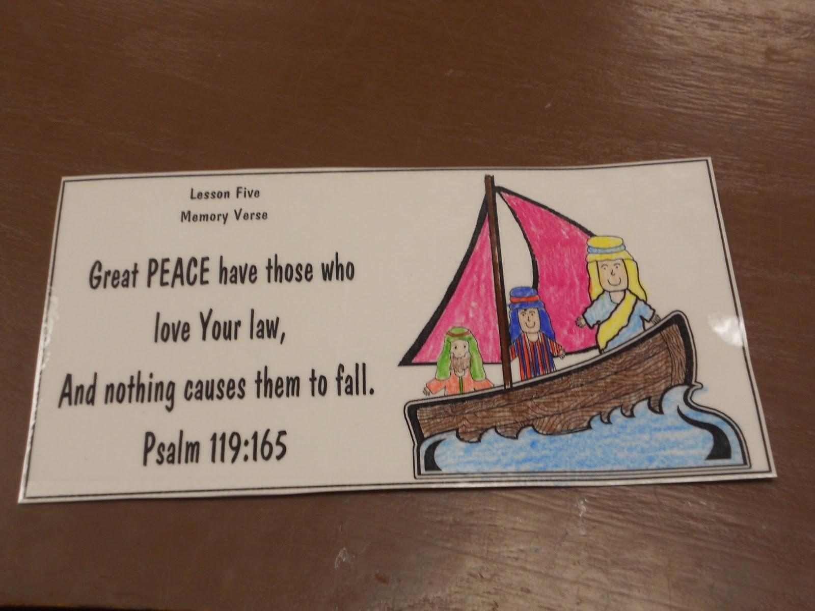 hands on bible teacher fruit of the spirit peace