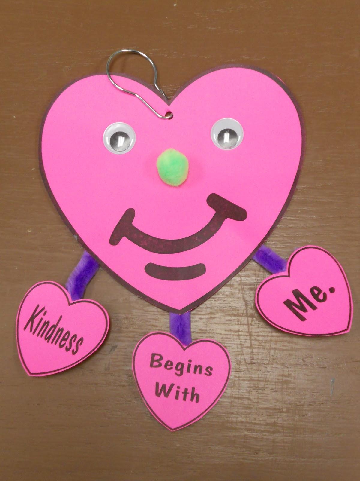 Kindness crafts for preschoolers - Kindness